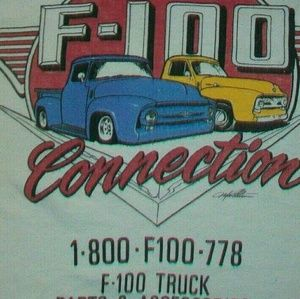 Ford F-100 Pick Up Truck Auto Parts vintage shirt